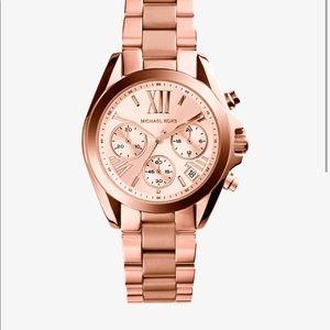 Michael Kors rose gold-tone watch